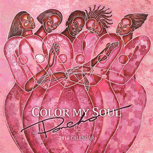 COLOR MY SOUL 2016 CALENDAR