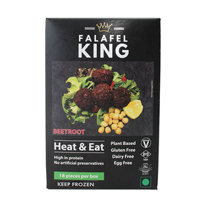 Falafel King Beetroot Falafel 18 Piece Box