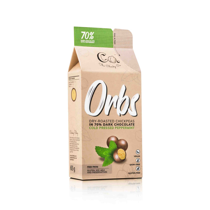 Orbs - Cold Pressed Peppermint 65g