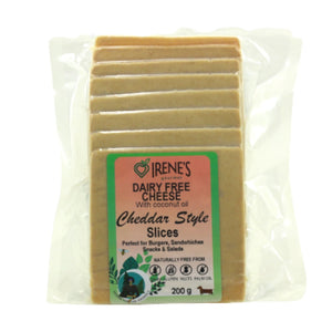 Irene's Gourmet Sliced Cheddar Style Cheese 200g