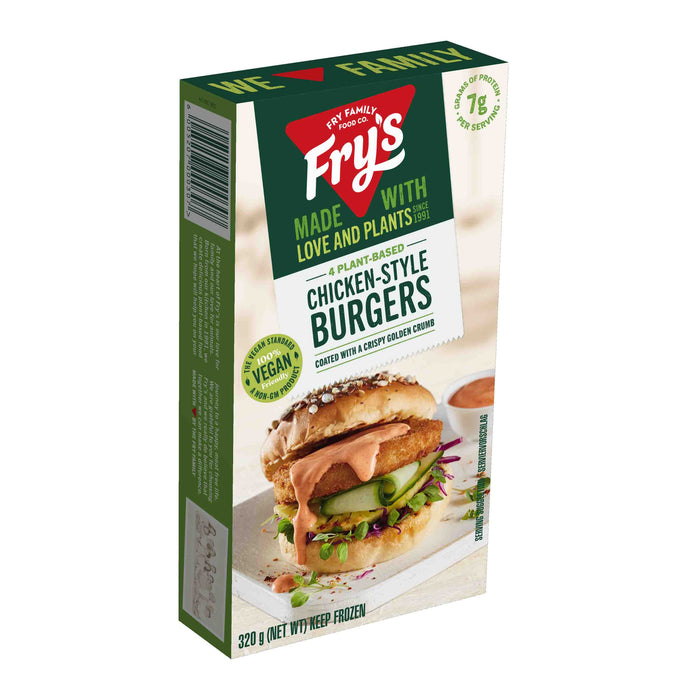 Fry's Chicken Style Burgers 320g