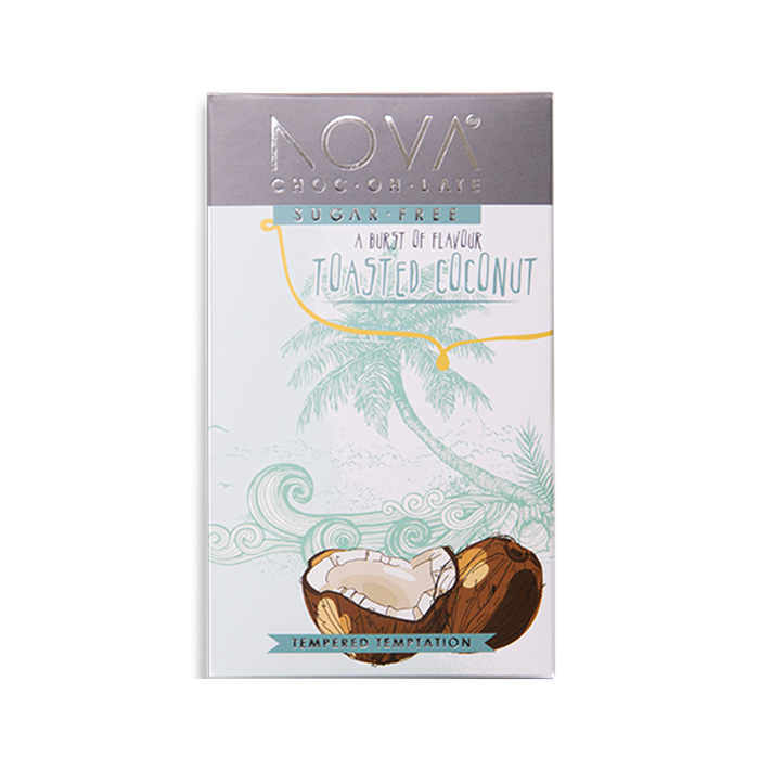 Nova Dark Chocolate with Coconut 40g