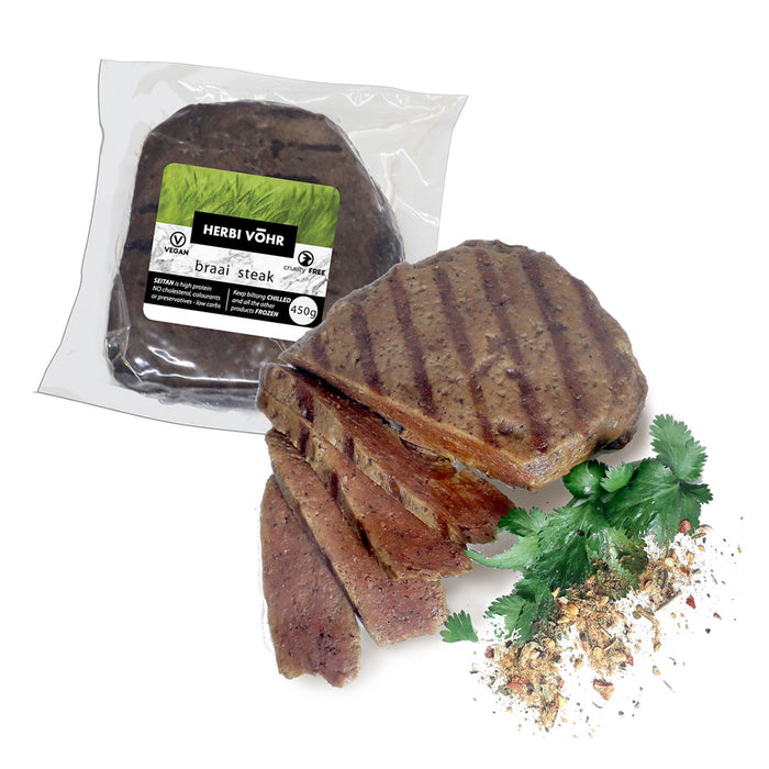 Herbi Vohr Vegan Braai Steak 300g