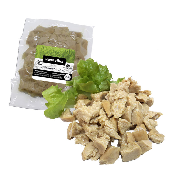 Herbi Vohr Vegan Chicken Chunks 250g