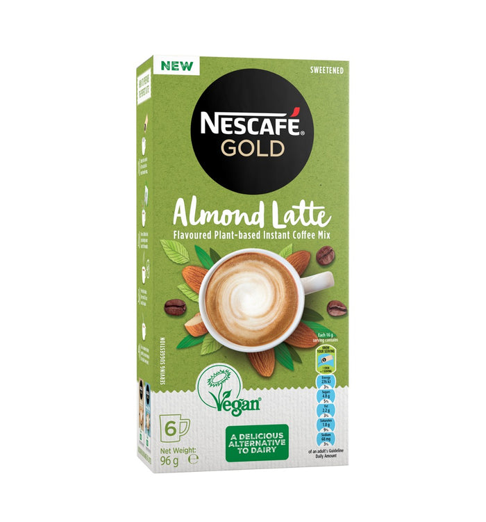 Nescafe Gold Almond Latte - 6 Sachets
