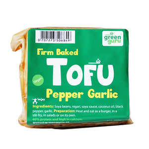 Green Guru Pepper and Garlic Tofu