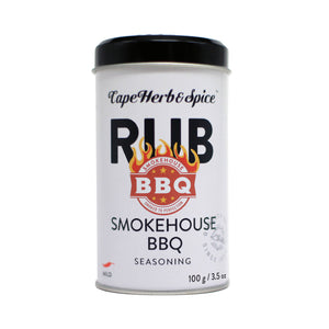 CHS Rub Tin Smokehouse BBQ