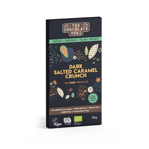 The Chocolate Yogi Dark Salted Caramel Crunch 35g