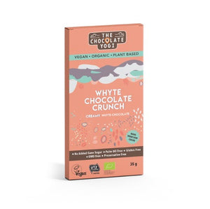 The Chocolate Yogi Whyte Chocolate Crunch 35g