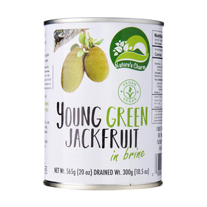 Nature's Charm Young Green Jackfruit in Brine 300g