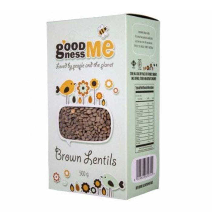 Goodness Me Brown Lentils 500g