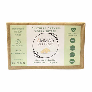 Amma's Creamery Cultured Cashew Vegan Butter 225g