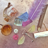 Magical Fairy spell writing kit - invitation to make marks