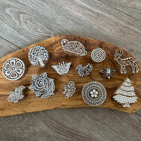 Hand Carved Wooden Stamps
