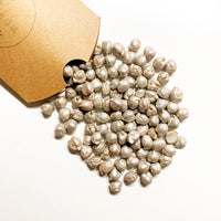 silver chickpeas