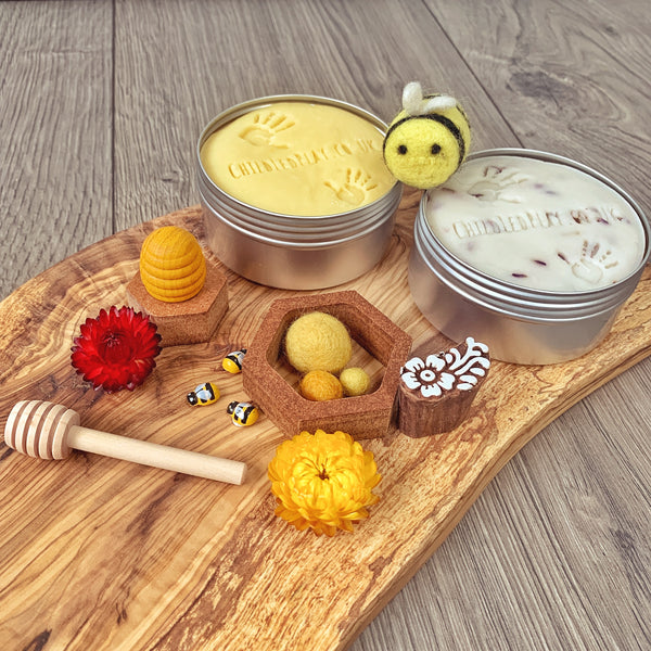 honey bee gluten free playdough play set