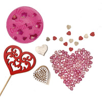 Love Heart Valentine's Playdough kit