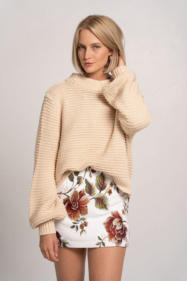 ELSA KNIT JUMPER PUMICE - BEC + BRIDGE