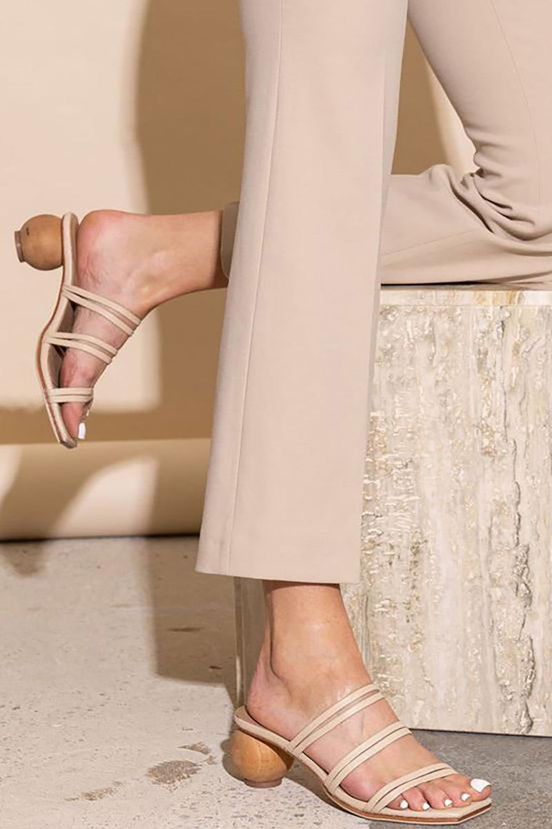LOVERE SANDAL NUDE - JAMES SMITH