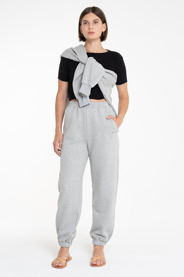 SATURN TRACK PANT GREY - SARA FOX THE LINE