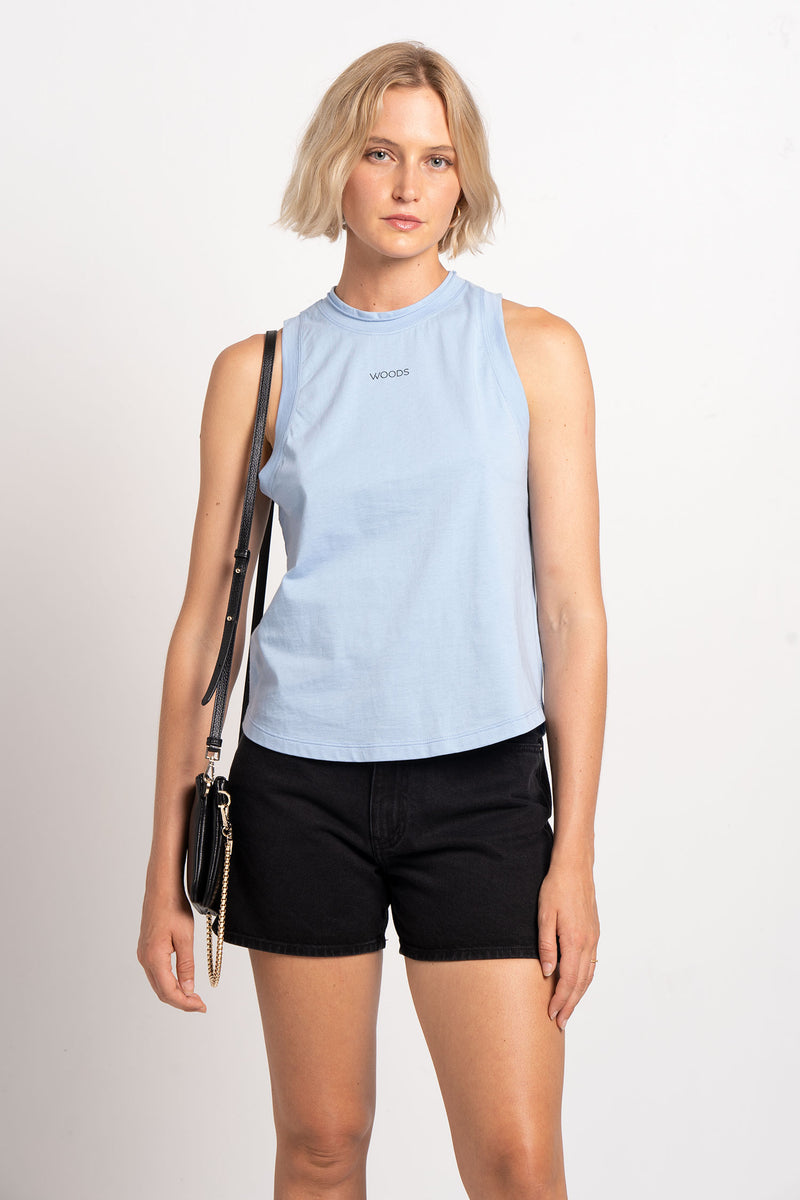 WOODS MUSCLE TANK - VIKTORIA + WOODS