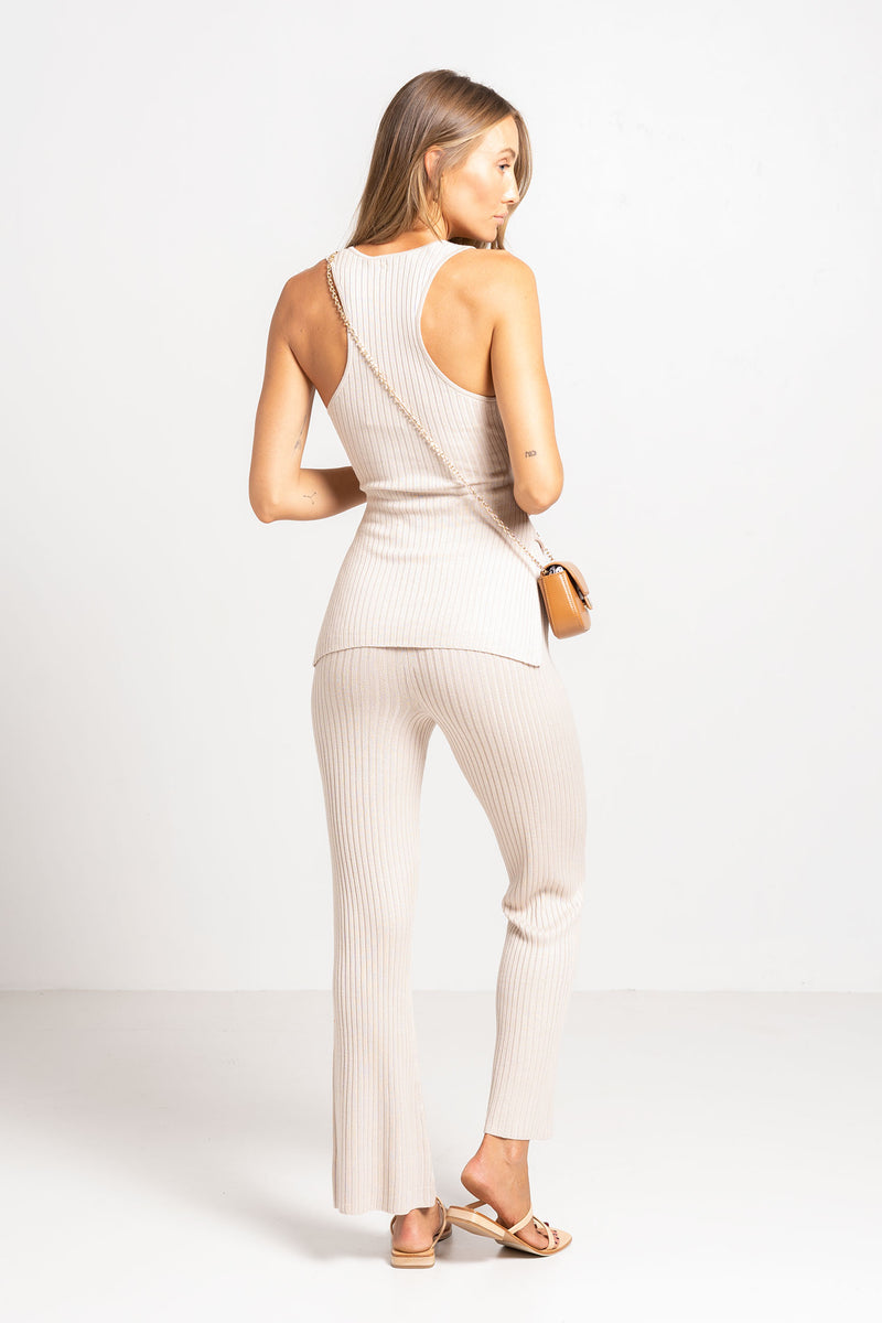 RAY SINGLET NATURAL - HANSEN + GRETEL