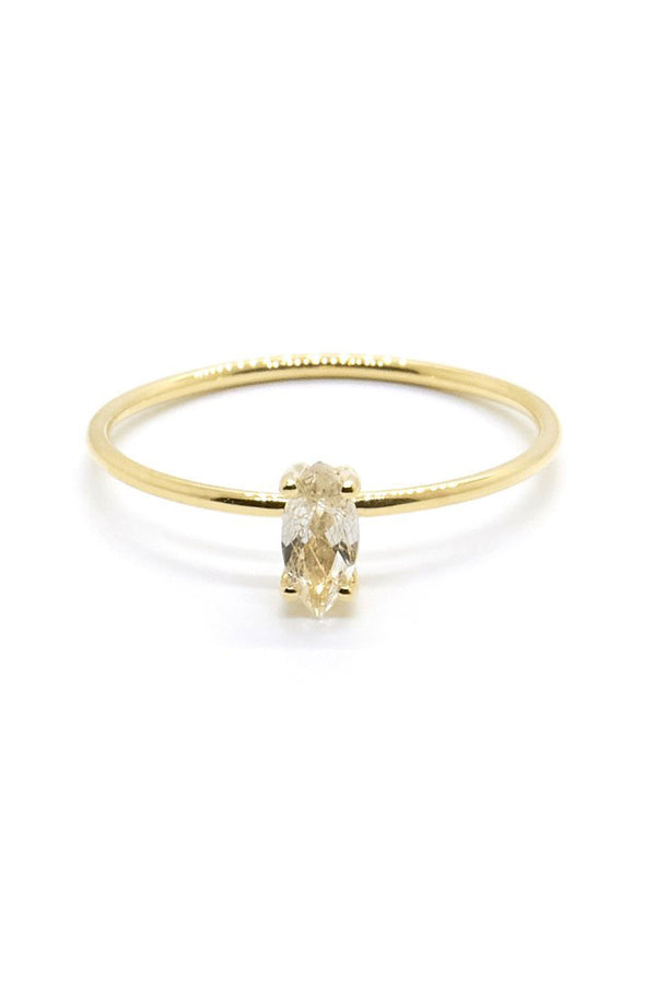TINY MARQUISE RING - NATALIE MARIE