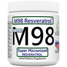 Load image into Gallery viewer, M98: Bulk Super Micronized Resveratrol