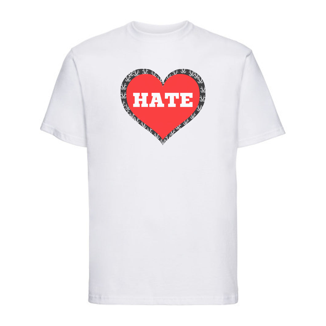 Love/Hate Short Sleeve T-Shirt