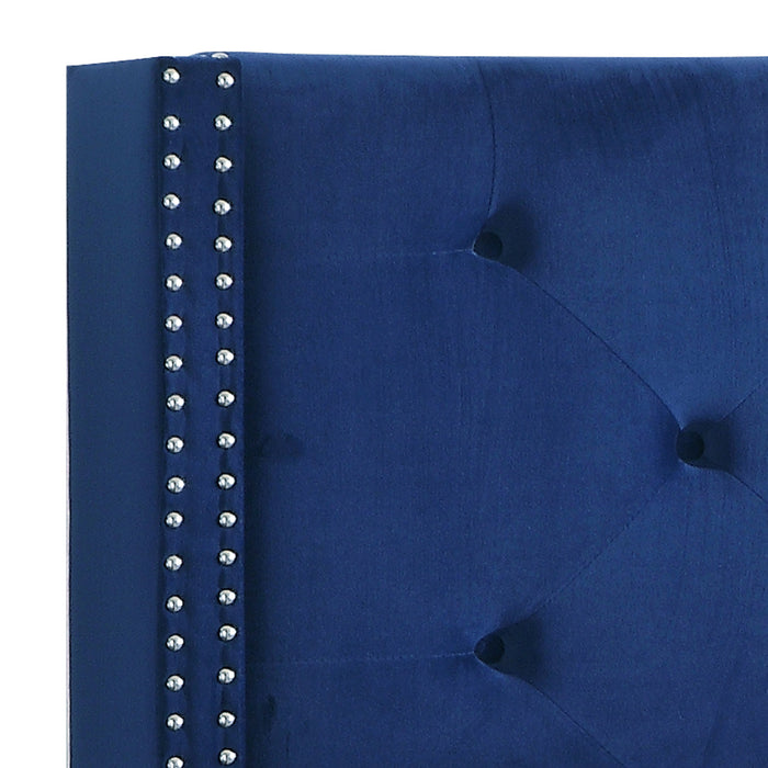 "LINO-78"" BED-BLUE"