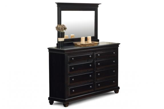 Florentino 8 Drawer Dresser & Mirror