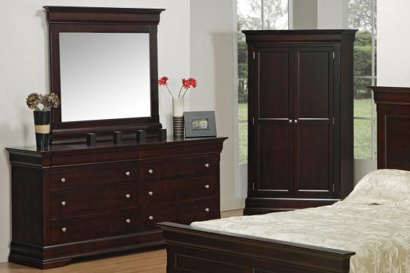 Phillipe Double Dresser & Mirror