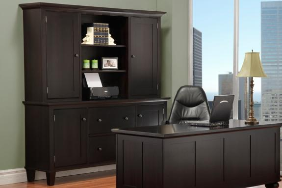 Georgetown Office Credenza With Hutch