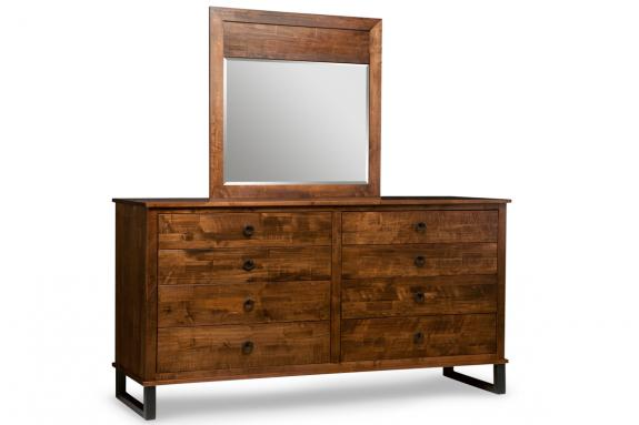 Cumberland 8 Drawer Dresser & Mirror