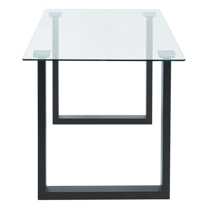 FRANCO-DINING TABLE-BLACK