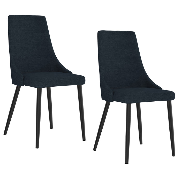 VENICE-SIDE CHAIR-BLUE, SET OF 2