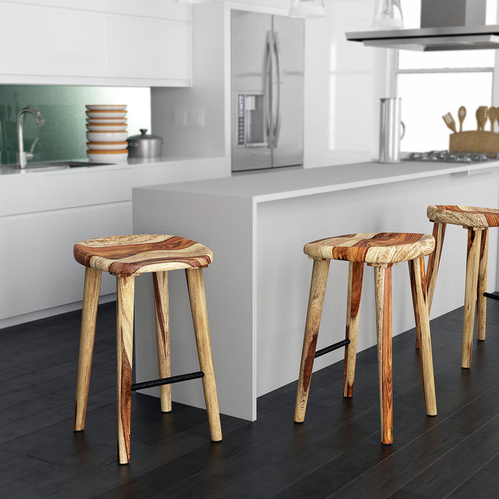 "TAHOE-26"" COUNTER STOOL-NATURAL"