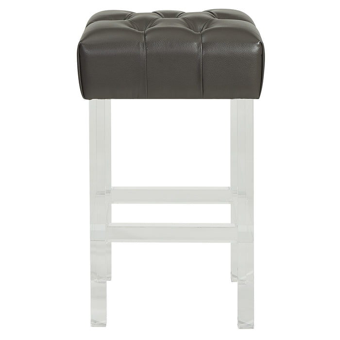 "NOOR-26"" COUNTER STOOL-GREY"