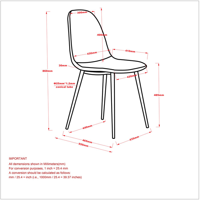 VESPA/OLLY GY-5PC DINING SET