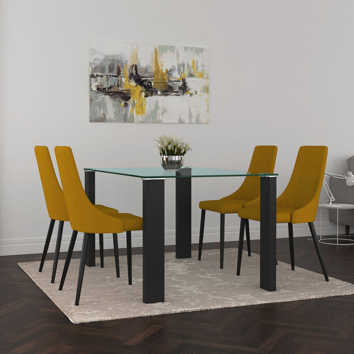 VESPA/VENICE MUS-5PC DINING SET