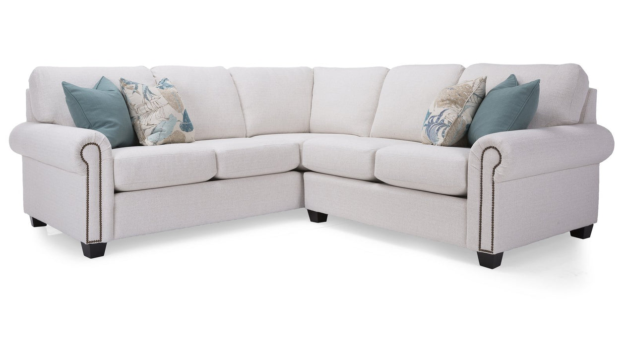 2A4 Alessandra Customizable Sectional - Customizable