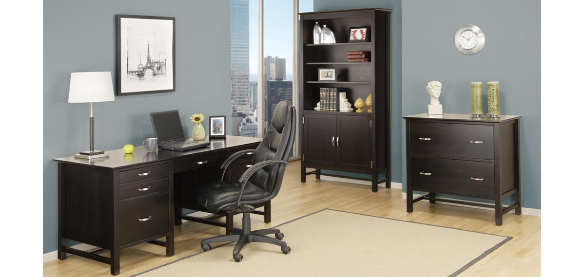 "Brooklyn 28""x68"" Executive Desk"