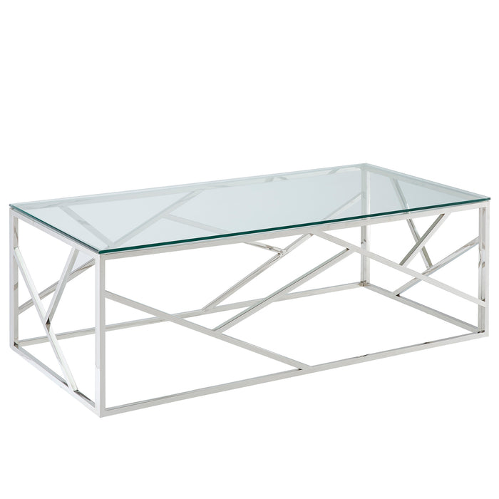 JUNIPER-COFFEE TABLE-SILVER