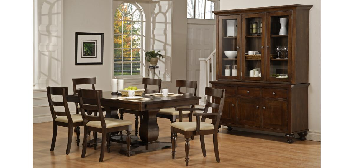 Georgetown Double Pedestal Table
