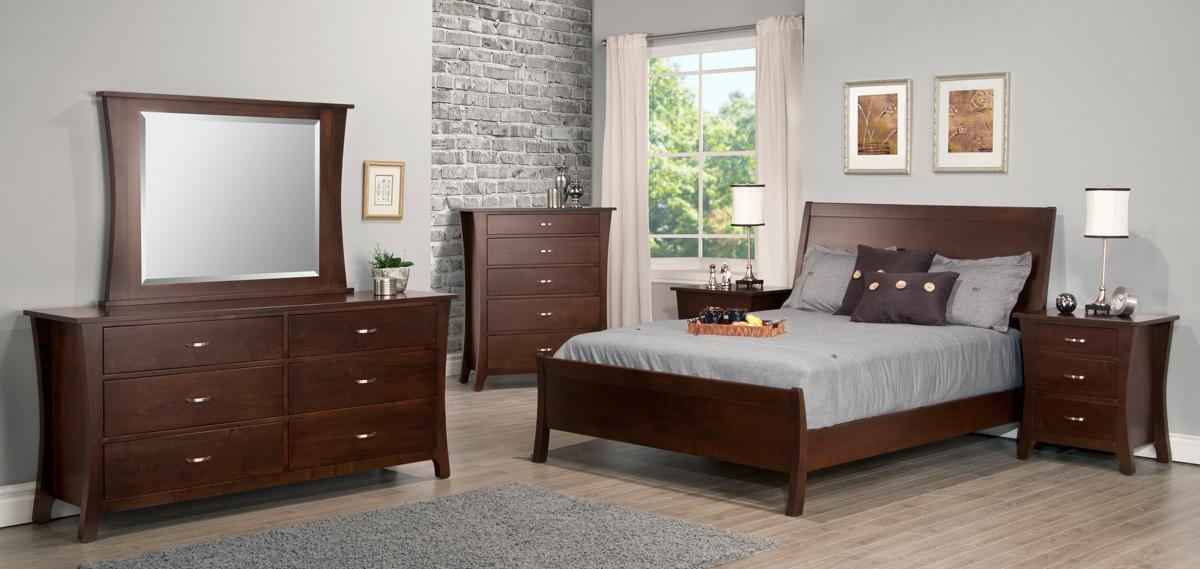 Yorkshire Bed w/High Footboard