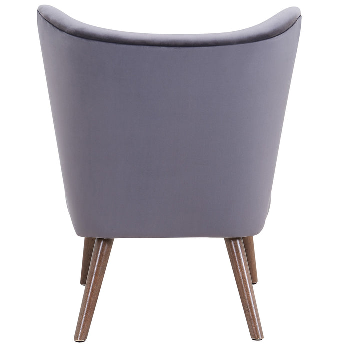 ELLE-ACCENT CHAIR-GREY