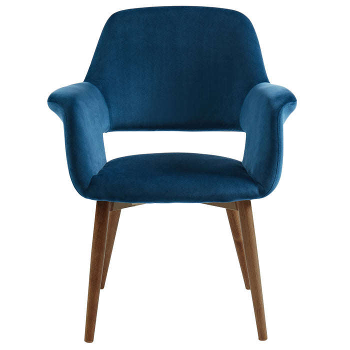 MIRANDA-ACCENT CHAIR-BLUE
