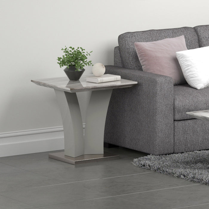 NAPOLI-ACCENT TABLE-GREY