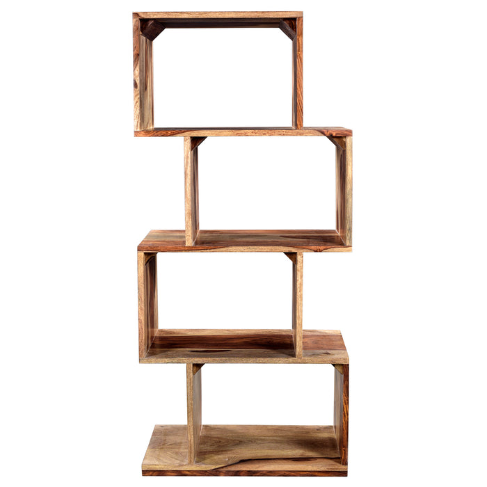 IDRIS-SHELVING UNIT-DARK SHEESHAM