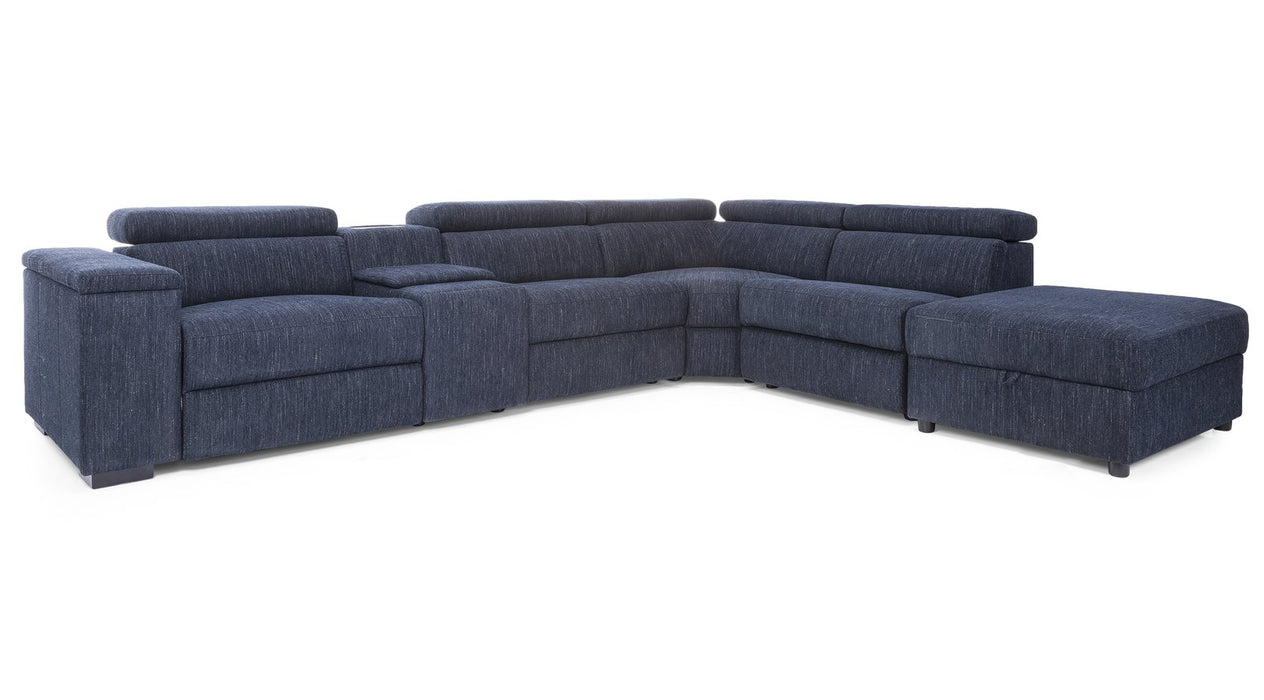 Adah Recliner Sectional With Storage - Customizable